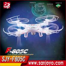 Syma Productos más recientes X5SW RC Drone Quadcopter con 2 megapíxeles 6 ejes de avión 2.4G Flying Drone F805HD