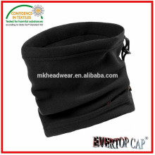 Adult used neck warmer, 100% polyester polar fleece neck warmer, elastic neck warmer