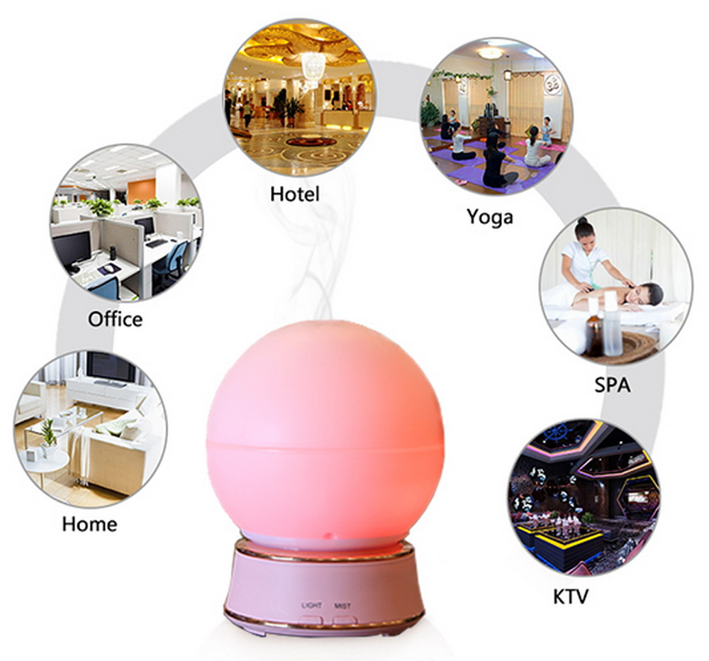 Aroma Diffuser for Essential Oils LED Light