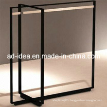 Stainless Steel Clothes Hanging Display Rack (GDS-010)