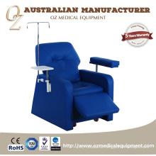 Berufshandelskrankenhaus-Möbel-Blutspenden-Stuhl für Blut-Transfusions-Gebrauch CER genehmigte stützende Infusions-Couch