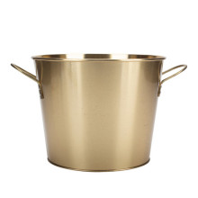 Golden Water Bucket Water Pail With Handle