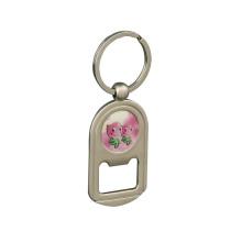 Дешевые продажи металла Консервооткрывателя keychain с Логосом печатания