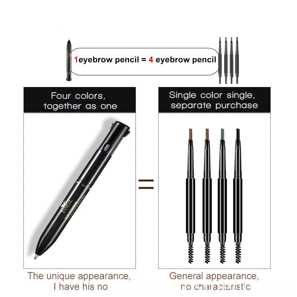 4 in 1 Eyebrow Pencil