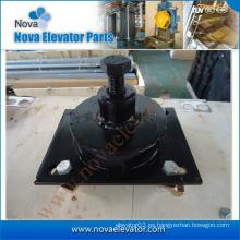 Almohadilla anti-vibración para ascensor con fijaciones para el motor de tracción