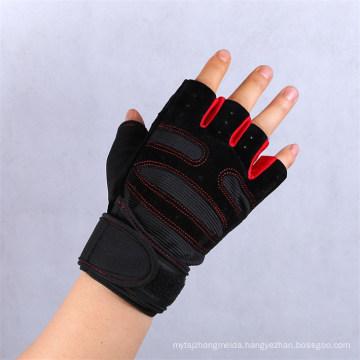 Fashion Easy Take Outdoor Sports Half Finger Gloves