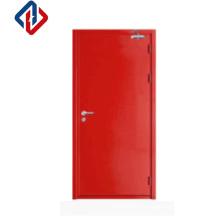 British standard BS476 Fireproof Door Hollow Metal Fire Rated Door with vision panel
