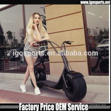 1296mm колесная база citycoco 60В 1000Вт электрический скутер