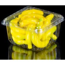 Caixa de embalagem de plástico para morangos