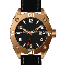 Luxury tin bronze men automatic watch