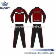 Изготовленный на заказ спортивный костюм с сублимированной молнией