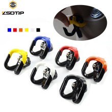 Universal Colorful CNC Aluminum Electric Motorcycle Scooter Hanging Motorcycle Hook Helmet Hook