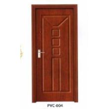 PVC-Holztür für Küche oder Badezimmer (pd-008)