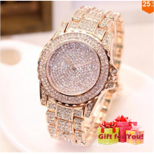 2017 Luxo Sparkling Rhinestone Mulheres Cestbella Special Gifts Watch