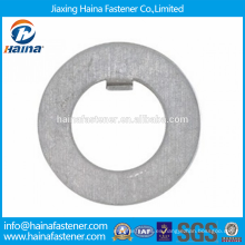 Proveedor Chino Mejor Precio DIN 462 Acero al Carbono / Acero Inoxidable Arandelas Internas con Zinc plateado / HDG
