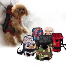 Portador de perro Mochila de perro de viaje bolsas de mascotas hombro