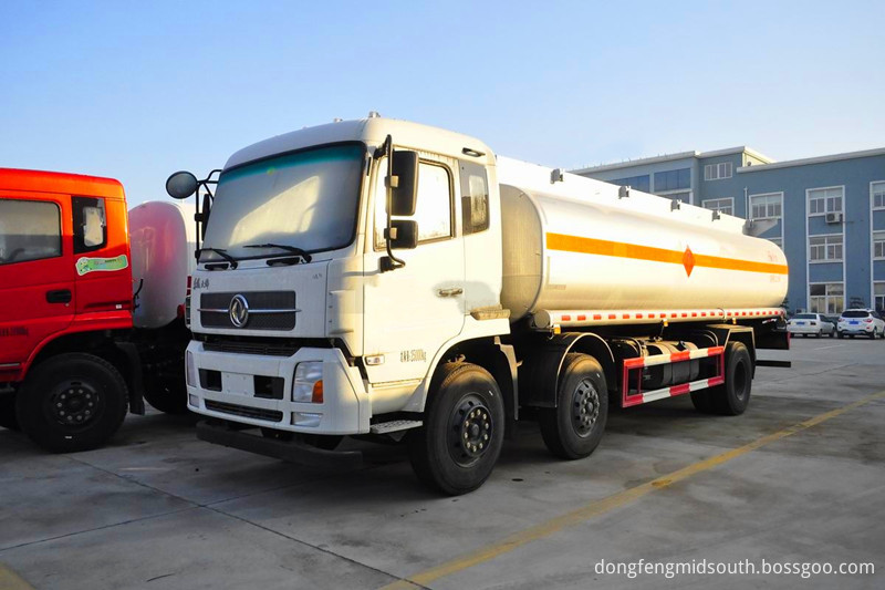 Fuel Tanker Truck 36