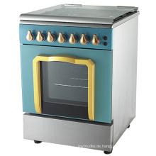 Neuer Entwurf freistehender Gasherd-Kocher mit Ofen