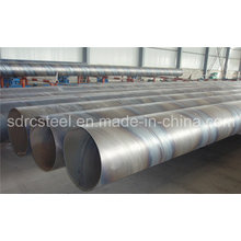 Round SSAW Welded Spiral Steel Pipe