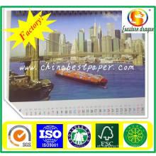 Placa barata da caixa de dobramento da cor do preço-Marfim