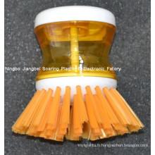Cuisine d'assistance plastique brosse de nettoyage pour la vaisselle, Pan et Pot (ZT10011)