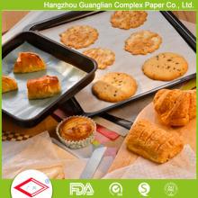 Papel de pergamino para hornear Pan Liners Silicone tratado 12 x 16 pulgadas