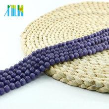 XULIN Wholesale Necklace Jewelry Making Beads X000713 Tanzanite Round Cat Eye Glass Beads