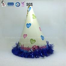 Paper Happy Birthday Cap, Cone Hat for Kids