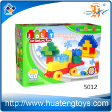2016 new education DIY car building block toys for children
