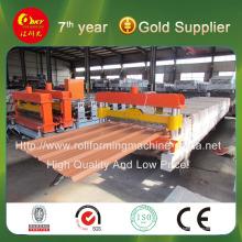 Hky 21-215-860 Linha de produção automática de máquina perfiladeira de telha de aço colorida para painel de parede e telhado