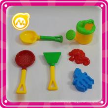 6PCS Beach Tool para jogar areia brinquedo conjunto