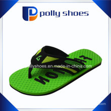 Nwt Men′s Rubber Sandals Flip Flop Green Multiple Size