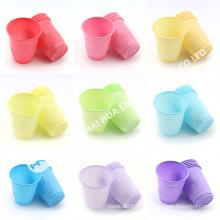 Grüne bunte Einweg-Kunststoff Dental Cup für Promotion Umsatz