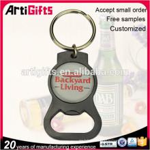 Custom logo Metal Beer bottle opener keychain
