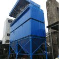 Biomass boiler high temperature dust collector