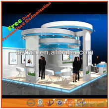 portable trade show exhibit design from Shanghai,China 20'*20'