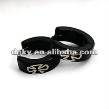 Supply anticorrosion plating black stainless steel ear clip