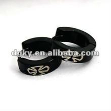 Fornecimento anticorrosão chapeamento preto clip de orelha de aço inoxidável