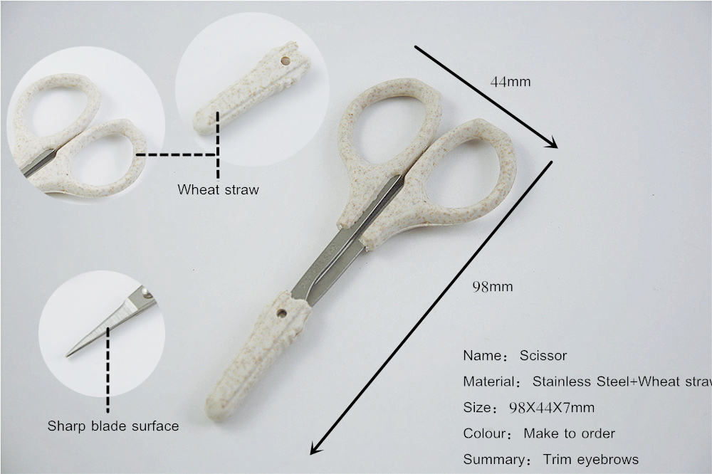 Eyebrow Shaping Scissors