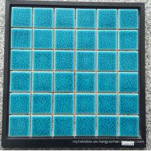 Ice Crack Mosaico de Natación de Cerámica para Piscina