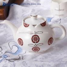 Chinesische Art Cheongsam Muster-orientalischer Tee-Topf, heißer Verkaufs-antiker keramischer Tee-Satz