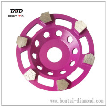Diamond tools, arrow cup wheel for grinding rough floor, oil paint, glue removals