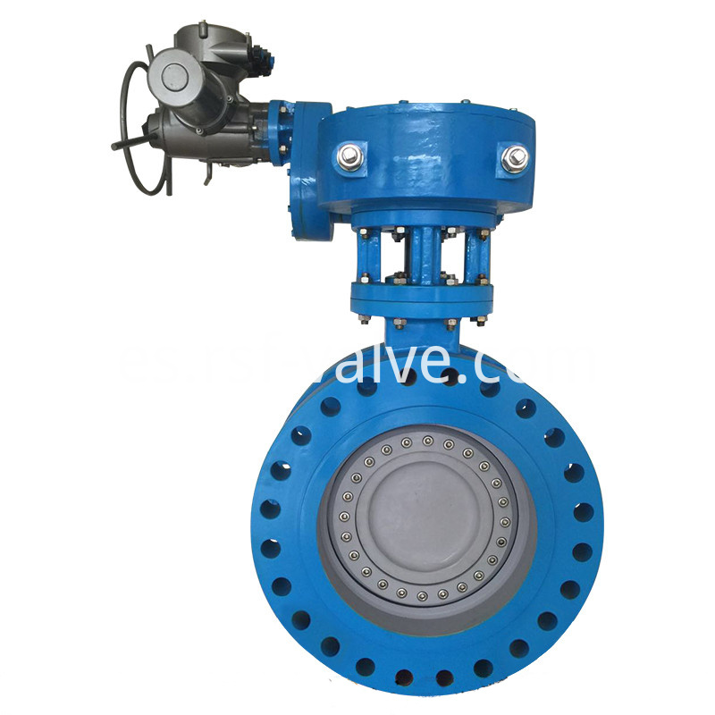 Triple Offset Butterfly Valve Flange 2