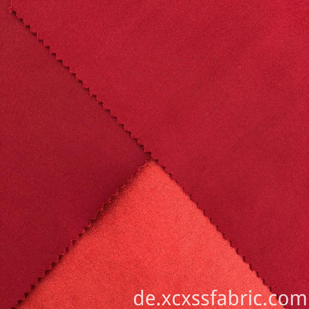 polyester spandex plain dyed scuba suede knitting fabric