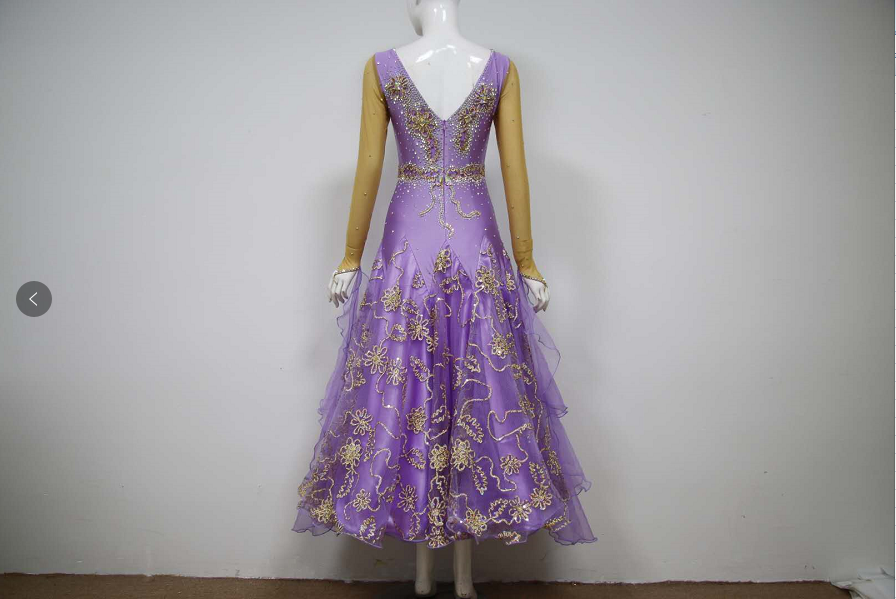 Womens Ballroom Dance Costumes For Competition