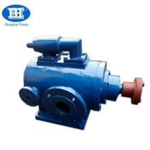 Thermal insulation three screw bitumen pump