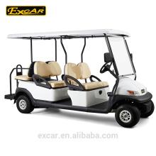 4 + 2 assento mini clube de golfe elétrico de golfe