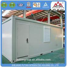 PTJ-8x20N estructura de acero 20FT contenedor de la casa