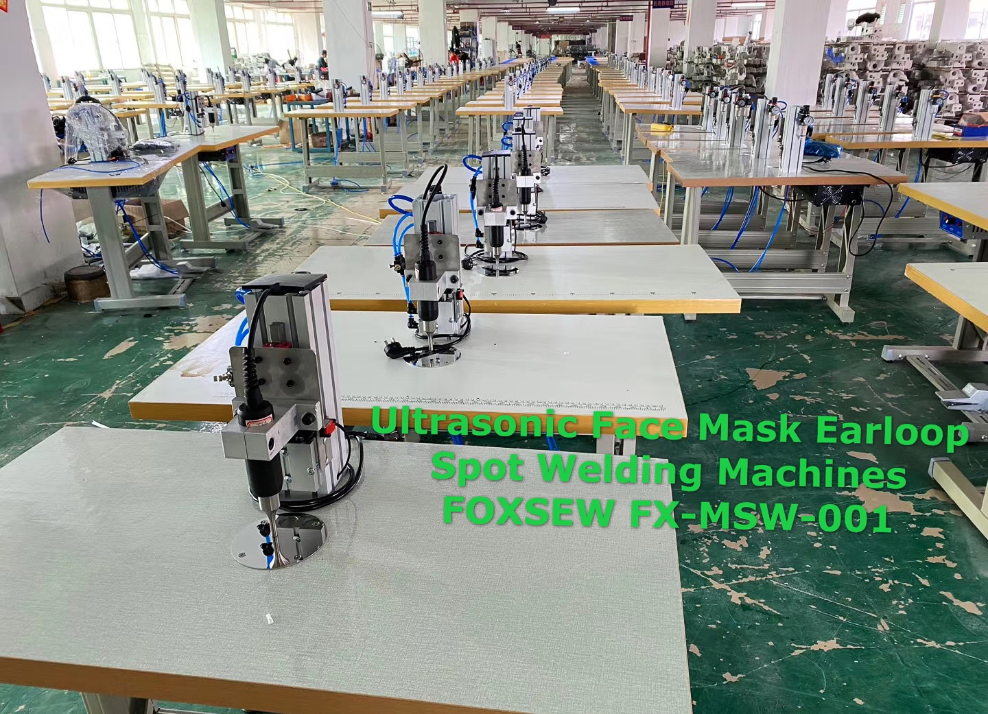 Ultrasonic Face Mask Earloop Spot Welding Machines FOXSEW FX-MSW-003 -1 (1)