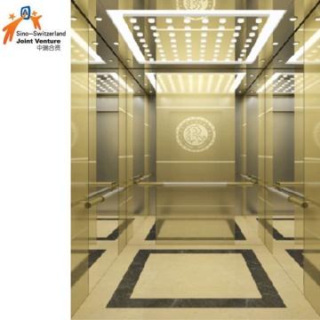 Ascenseur avec climatisation et fonctionnement d'urgence